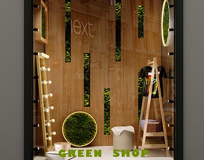Green Shop model