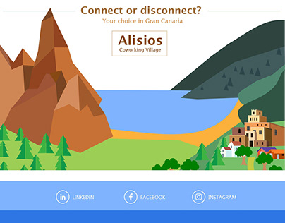 UI for a Co-working Village (Web)
