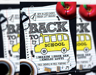 Back To School Vol.4 - Premium Flyer Template