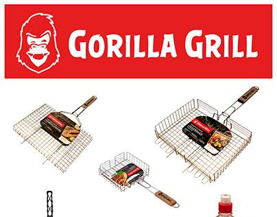 "Нейминг, разработка бренда ""Gorilla Grill"" и этикеток"