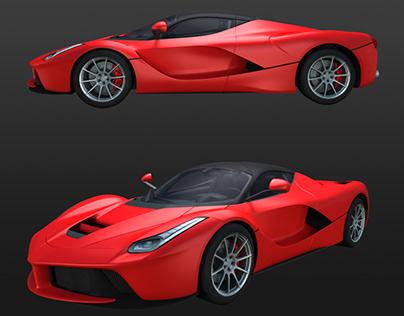 Med Poly Game Cars 3d models