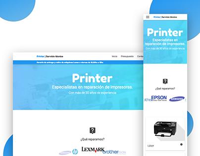 Printer - Sitio Web