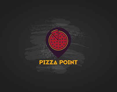 PizzaPoint - Logo & UI design