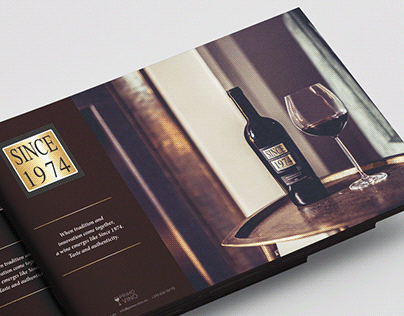 Wine catalog design