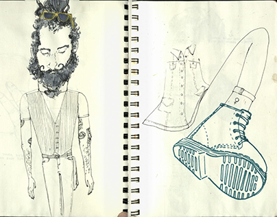 Sketchbook Summer 2015