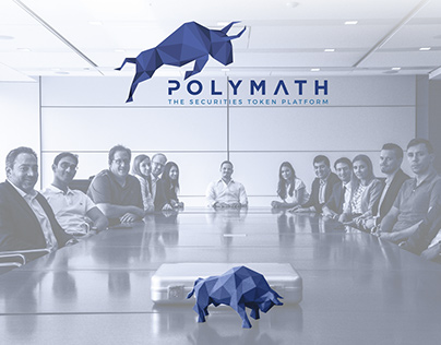 PolyMath - World Blockchain Forum (Curved Line Stand)