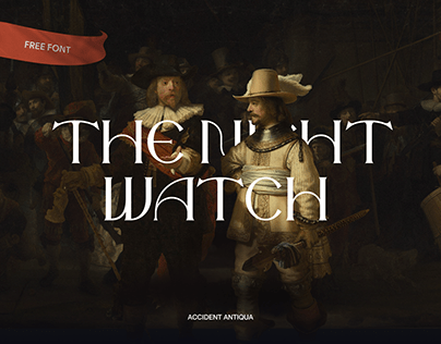 The Night Watch Free Font