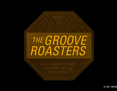 Band logo / The Groove Roasters