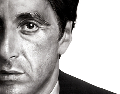 AL PACINO Digital Painting