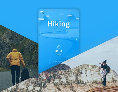 Outdoor App Concept