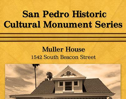 San Pedro Historic Cultural Monument Posters