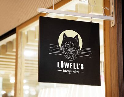 Lowell's Logo design