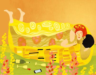 Uitkrant Amsterdam- Klimts Kiss