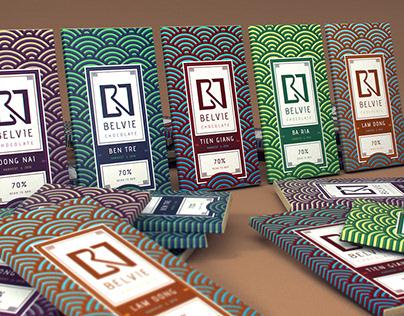 Belvie Chocolate Packaging