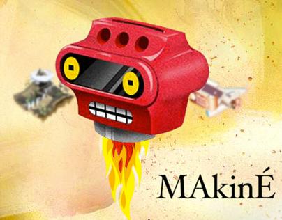 Makiné - Experimental Website