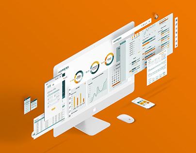Hopperix corporate graphics