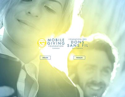Mobile Giving Foundation Website