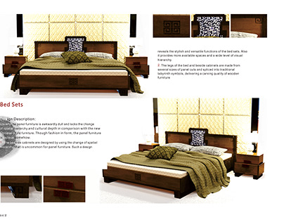 New Traditional Chinese Furniture Set