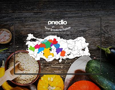 Onedio Yerel Lezzetler Micropage Design