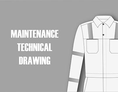 Maintenance Technical Drawing