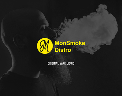 MonSmoke | Vape Liquid Packing Design