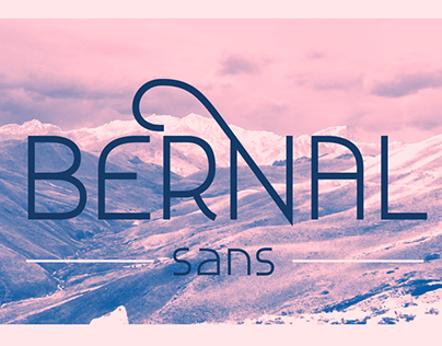 Bernal Sans Typeface