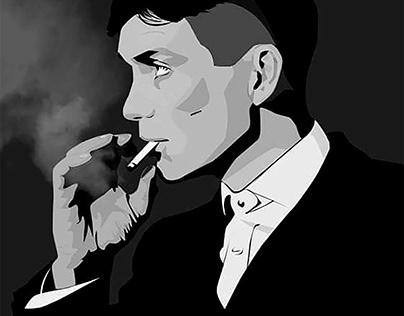 Illustration Tommy Shelby