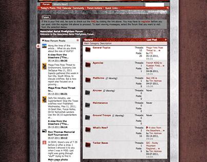 Associated Aerial Firefighters Organization Website
