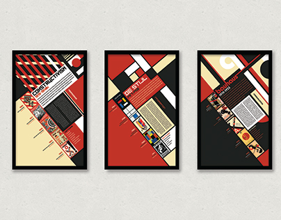 Art Movement Poster Series