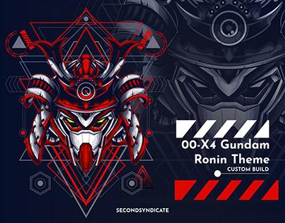 00 X4 GUNDAM Ronin Theme