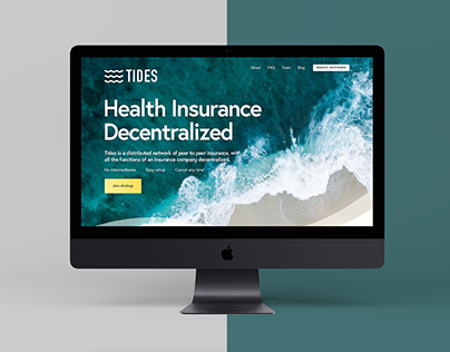 Tides Network Parallax Website Redesign
