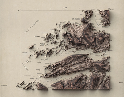 Norway - 3D Cartography