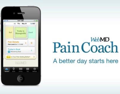 WebMD Pain Coach app for iPhone