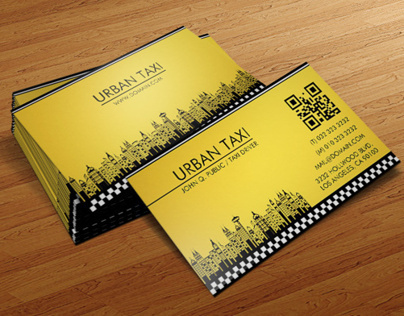 Taxi Driver Business Card Template