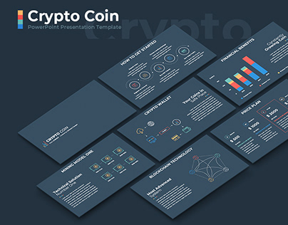 Crypto Coin Presentation Template