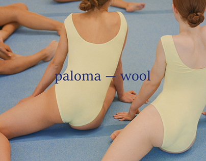 Web-concept for Paloma Wool brand
