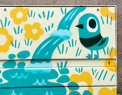 Various murals 2018-2020