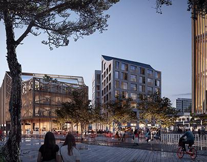 Helsinki Eastern Center | Harris Kjisik Architects