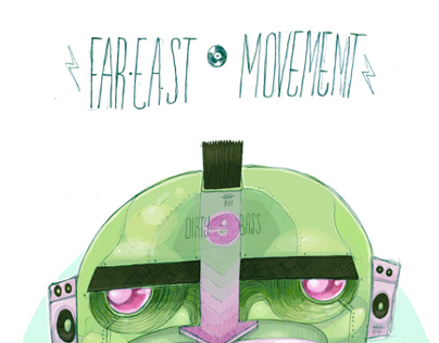 Far East Movement // Piece for ''According to them''