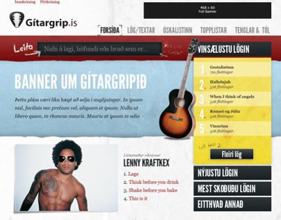 Gítargrip (not online)