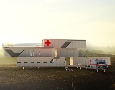 Proyecto centro médico temporal - Taller de Ambientes V