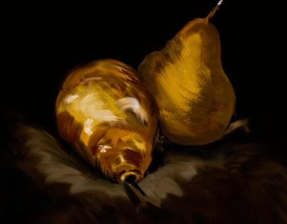 Fruit digital drawing