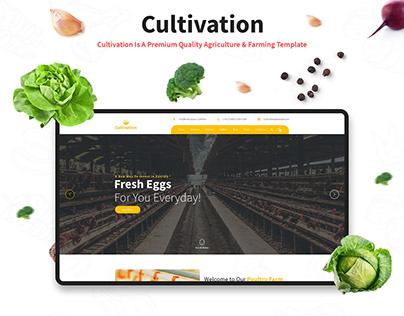 Cultivation Website Template