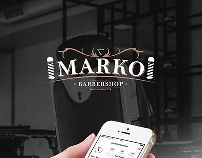 Marko Barbershop Shaves & Haircuts Brand