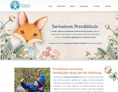 Turkusowe Przedszkole Website