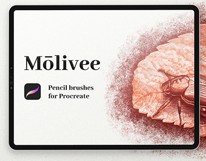 Molivee Pencil Brushes for Procreate