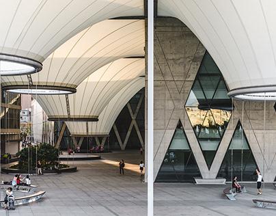 Dadong Art Centre, Kaohsiung, Taiwan.