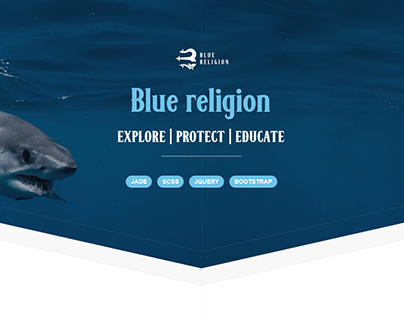 Bluereligion - Explore   Protect   Educate
