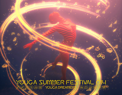YSF014 YOUGA DREAMERS | Poster, Icons, Font