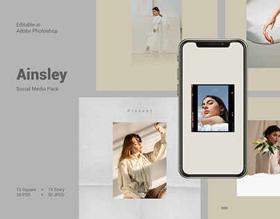 Ainsley - Social Media Pack